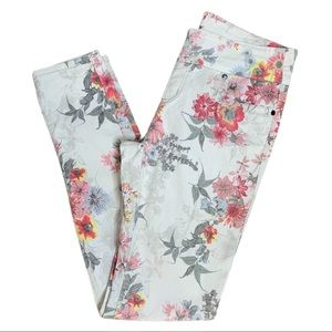 Lola Floral Ankle Jeans size 8